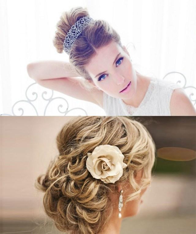 penteado, para, noiva, simplesmente noiva