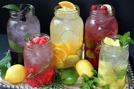 Água saborizada- Na cozinha da Quelen