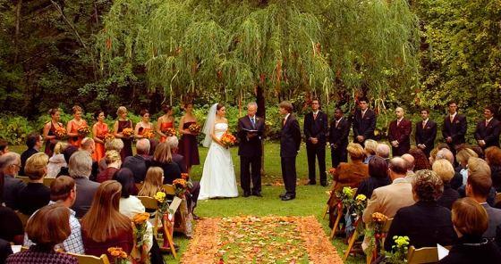 o que não fazer no casamento, casamento ao ar livre